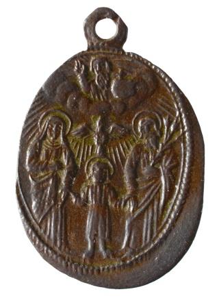 Medalla Viergen de Mariazell / Sagrada Familia  (R.M. SXVII-O362) (MAM) Dsc_3618