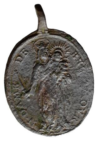 Medalla San Pedro Apóstol / Santa Elena  (R.M. SXVIII-O268) Helene11