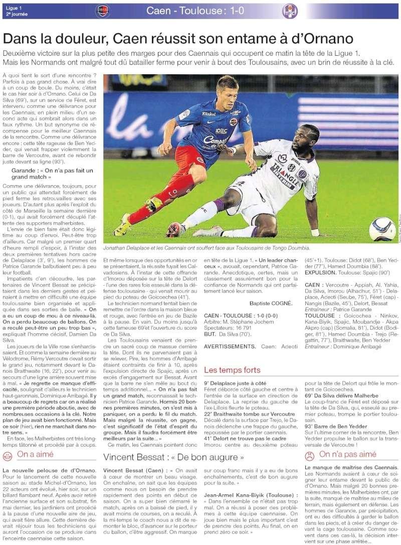 [2e journée de L1] SM Caen 1-0 Toulouse FC - Page 2 20150813