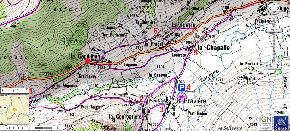 Lavigerie et la vallée de l'Impradine Lavige10