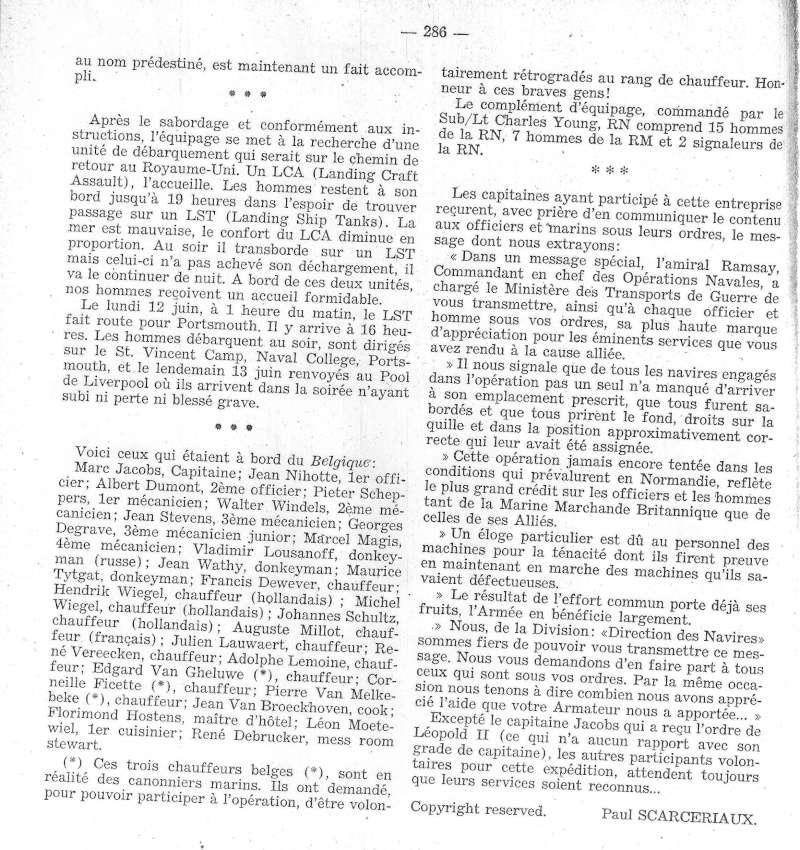 ss BELGIQUE  Normandie juin 1944 B610