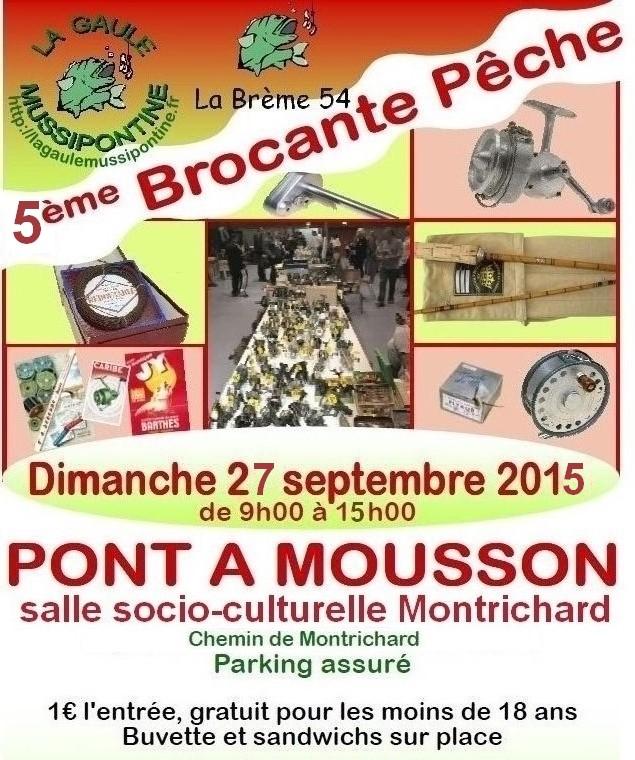Brocante pêche Pont-à-Mousson 27/09/2015 Affich10