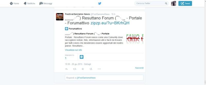 Resuttano Forum su twitter Sanrem10