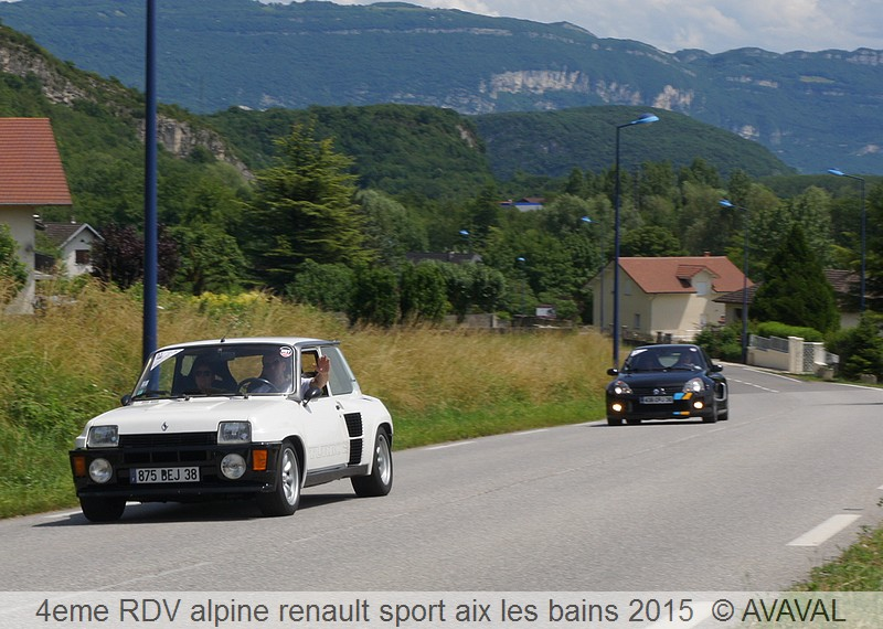[73] 13/14 juin 2015 3eme rassemblement alpine renault sport 1113