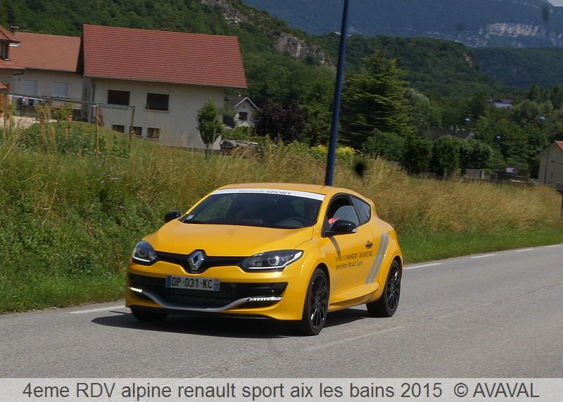 [73] 13/14 juin 2015 3eme rassemblement alpine renault sport 112