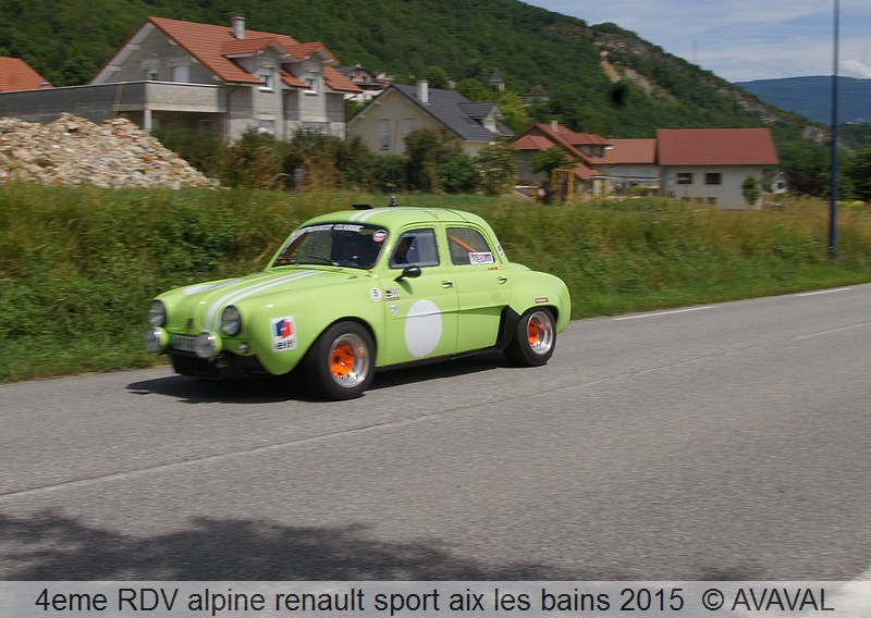 [73] 13/14 juin 2015 3eme rassemblement alpine renault sport 1812