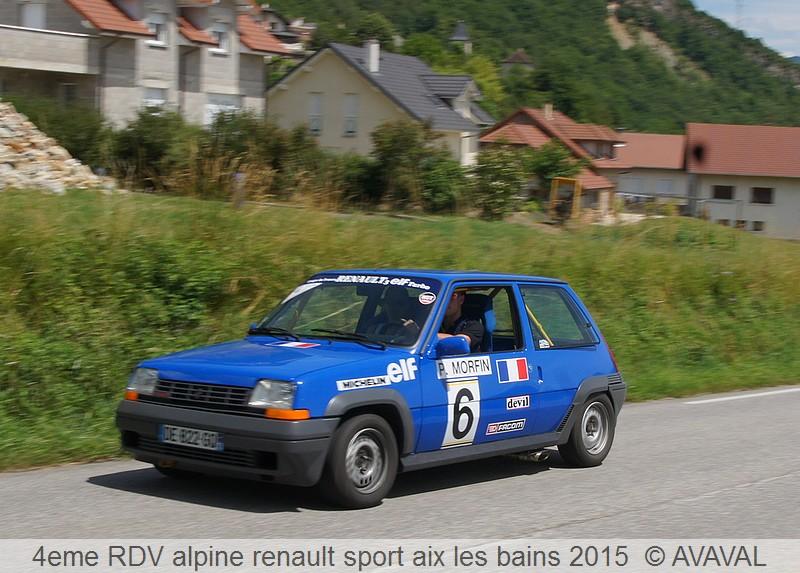 [73] 13/14 juin 2015 3eme rassemblement alpine renault sport 212