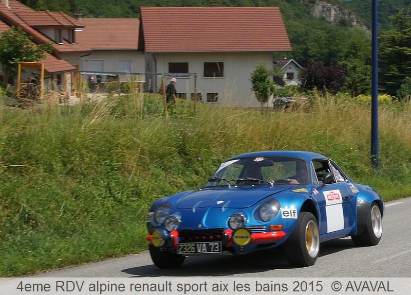 [73] 13/14 juin 2015 3eme rassemblement alpine renault sport 312