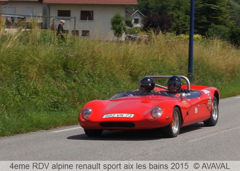 [73] 13/14 juin 2015 3eme rassemblement alpine renault sport 412