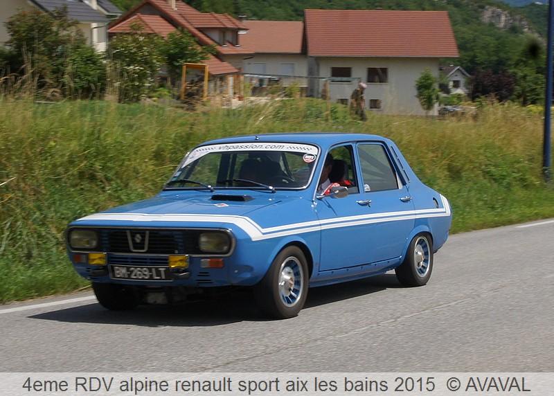 [73] 13/14 juin 2015 3eme rassemblement alpine renault sport 512