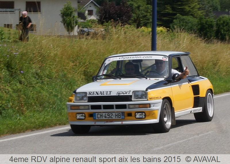 [73] 13/14 juin 2015 3eme rassemblement alpine renault sport 612