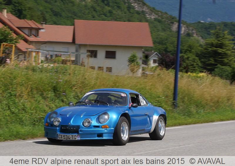 [73] 13/14 juin 2015 3eme rassemblement alpine renault sport 812