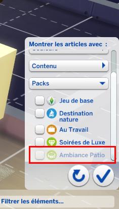 Sims 4 : les màj diverses et gratuites  Captur10