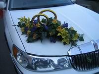 Украшение свадебного автомобиля Ukr11510