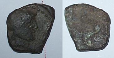 SIN IDENTIFICAR - Moneda ibera del sur Identi10