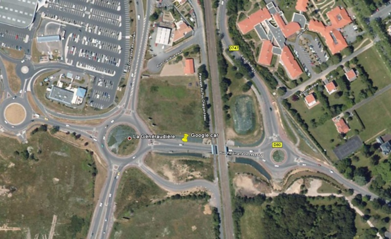 STREET VIEW : j'ai repéré la Google Car ! Google10