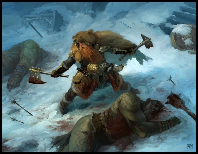 """Ilustraciones de """"Espada y Brujería"""" (NO Conan) Bear_w10"""