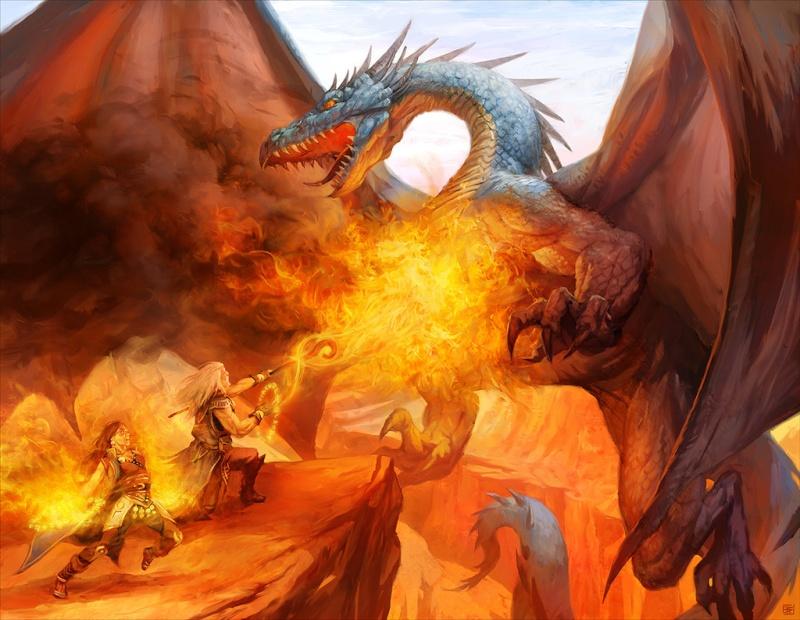 """Ilustraciones de """"Espada y Brujería"""" (NO Conan) Mythic10"""