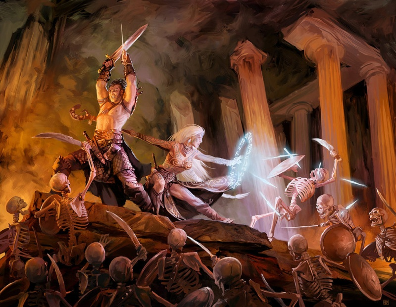 """Ilustraciones de """"Espada y Brujería"""" (NO Conan) Mythic11"""