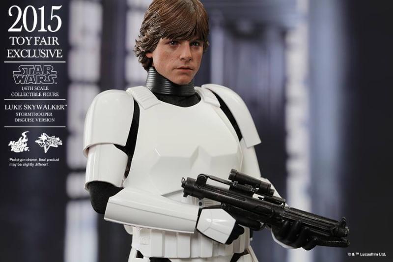 HOT TOYS - Star Wars - Luke Skywalker(Stormtrooper Disguise) 10985010