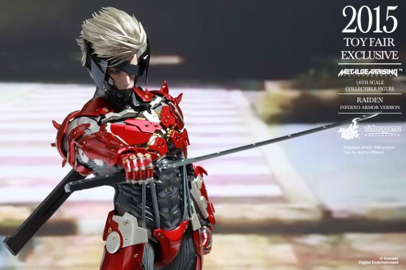 HOT TOYS - Metal Gear Rising: Revengeance - Raiden inferno 11013210