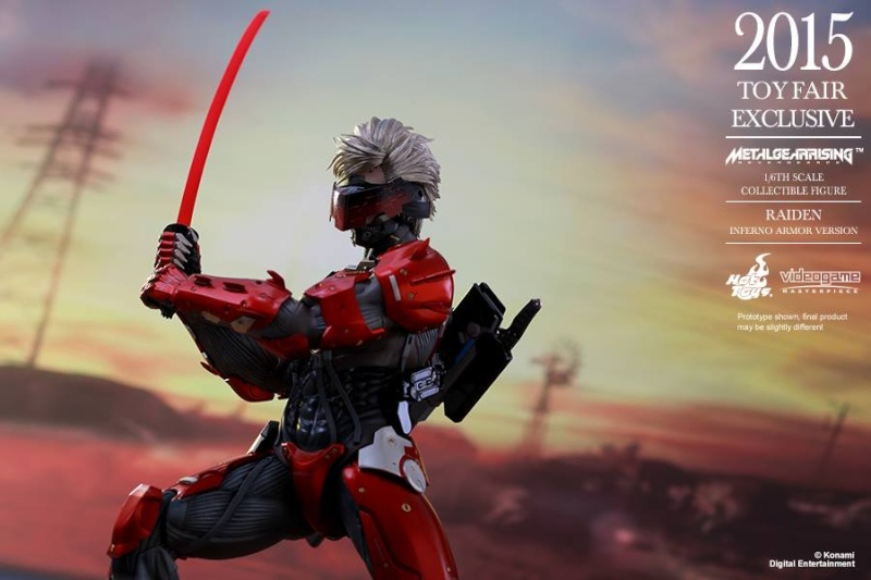 HOT TOYS - Metal Gear Rising: Revengeance - Raiden inferno 11017110