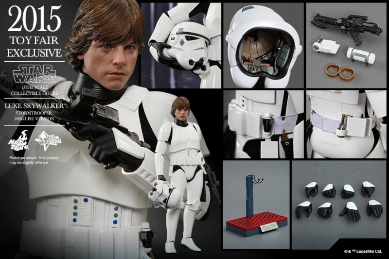 HOT TOYS - Star Wars - Luke Skywalker(Stormtrooper Disguise) 11052410