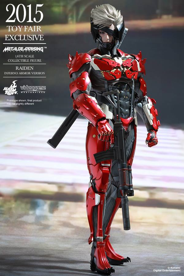 HOT TOYS - Metal Gear Rising: Revengeance - Raiden inferno 11150910