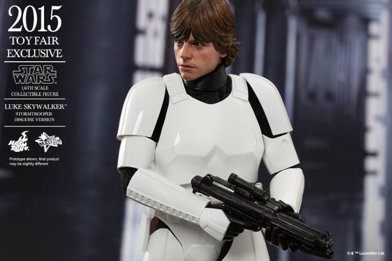HOT TOYS - Star Wars - Luke Skywalker(Stormtrooper Disguise) 11217610