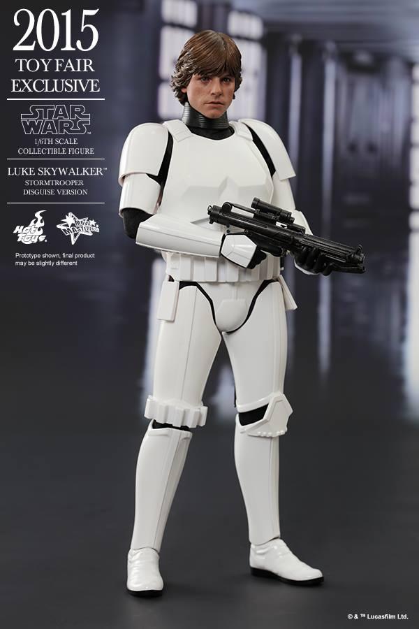 HOT TOYS - Star Wars - Luke Skywalker(Stormtrooper Disguise) 11231210