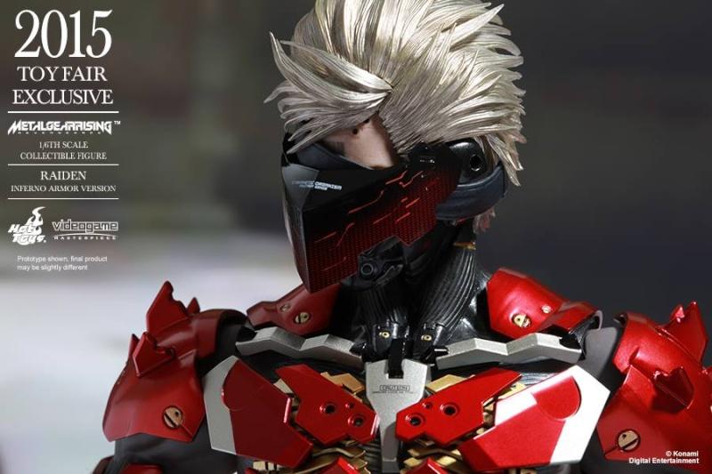 HOT TOYS - Metal Gear Rising: Revengeance - Raiden inferno 11250210