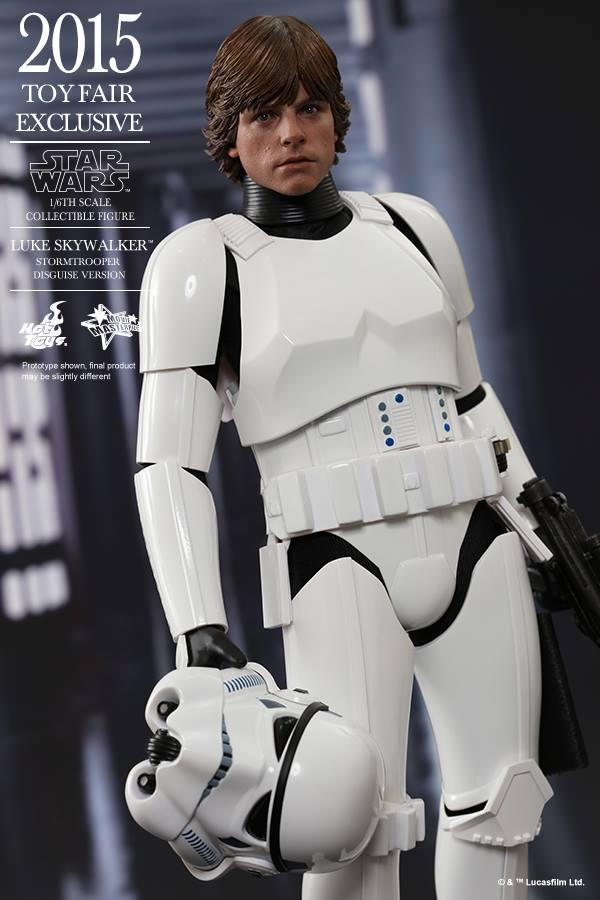 HOT TOYS - Star Wars - Luke Skywalker(Stormtrooper Disguise) 11403010