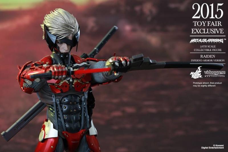 HOT TOYS - Metal Gear Rising: Revengeance - Raiden inferno 11659310