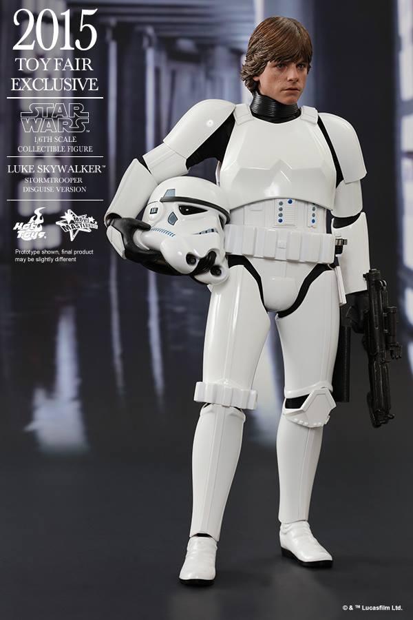 HOT TOYS - Star Wars - Luke Skywalker(Stormtrooper Disguise) 11666112