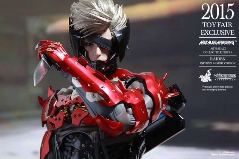 HOT TOYS - Metal Gear Rising: Revengeance - Raiden inferno 11666214