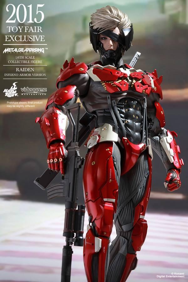 HOT TOYS - Metal Gear Rising: Revengeance - Raiden inferno 11667310