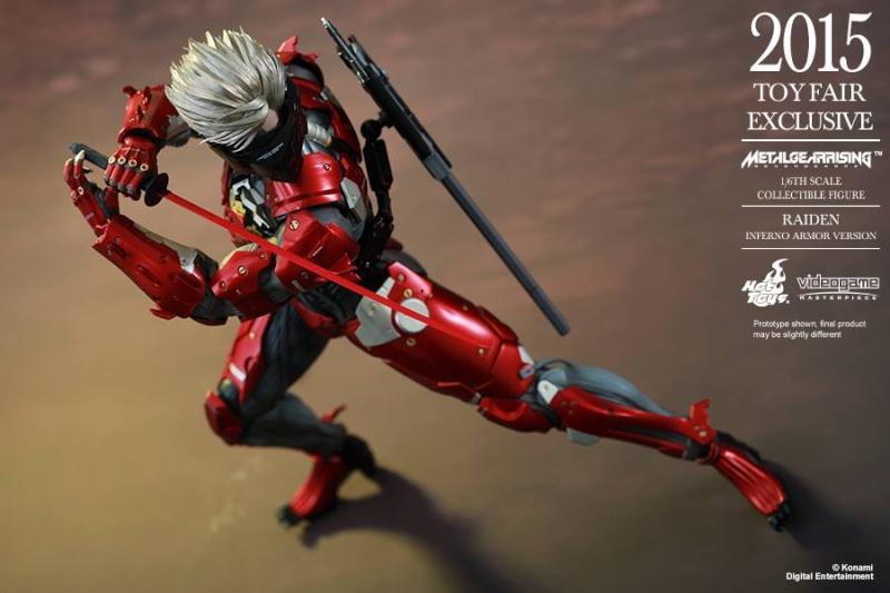 HOT TOYS - Metal Gear Rising: Revengeance - Raiden inferno 11667411