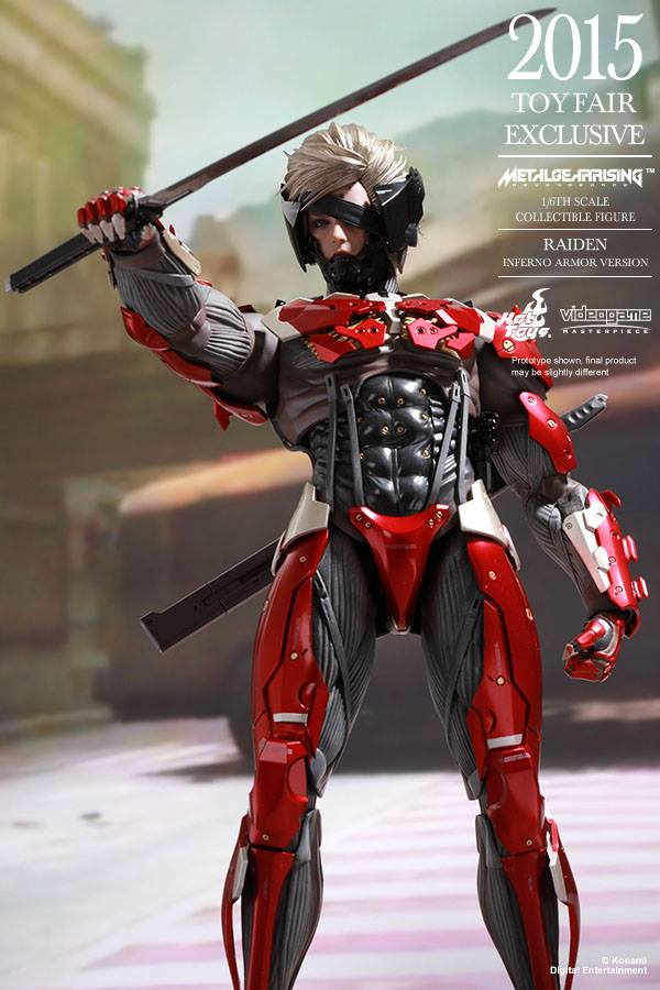 HOT TOYS - Metal Gear Rising: Revengeance - Raiden inferno 11695910
