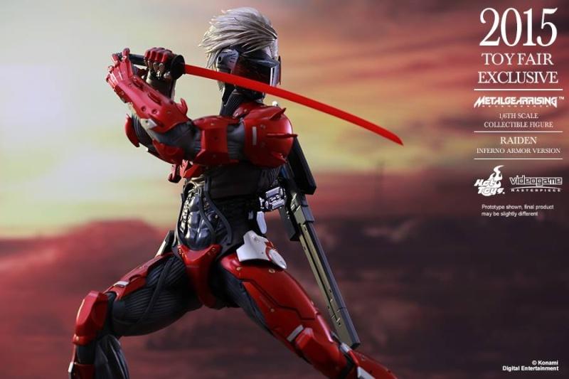 HOT TOYS - Metal Gear Rising: Revengeance - Raiden inferno 11698510
