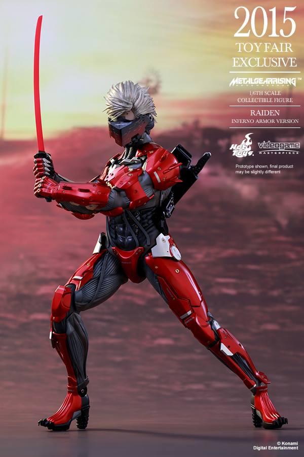 HOT TOYS - Metal Gear Rising: Revengeance - Raiden inferno 11698612