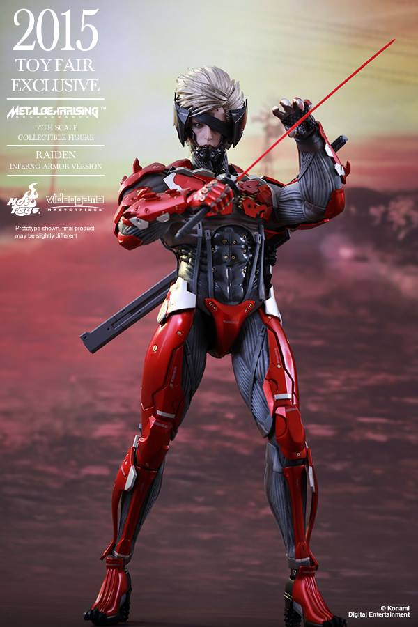HOT TOYS - Metal Gear Rising: Revengeance - Raiden inferno 11705110