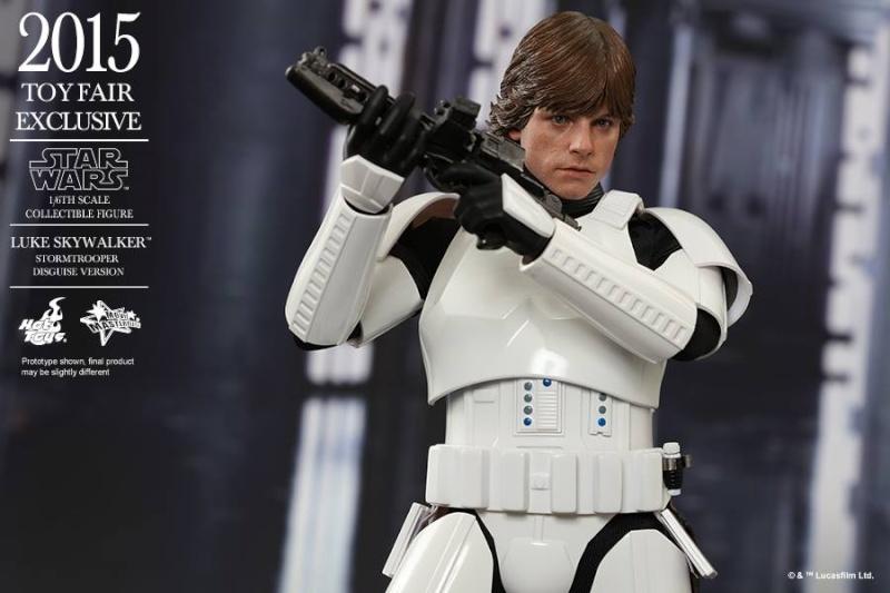 HOT TOYS - Star Wars - Luke Skywalker(Stormtrooper Disguise) 11737810