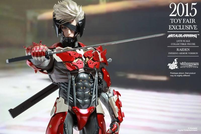 HOT TOYS - Metal Gear Rising: Revengeance - Raiden inferno 11737811