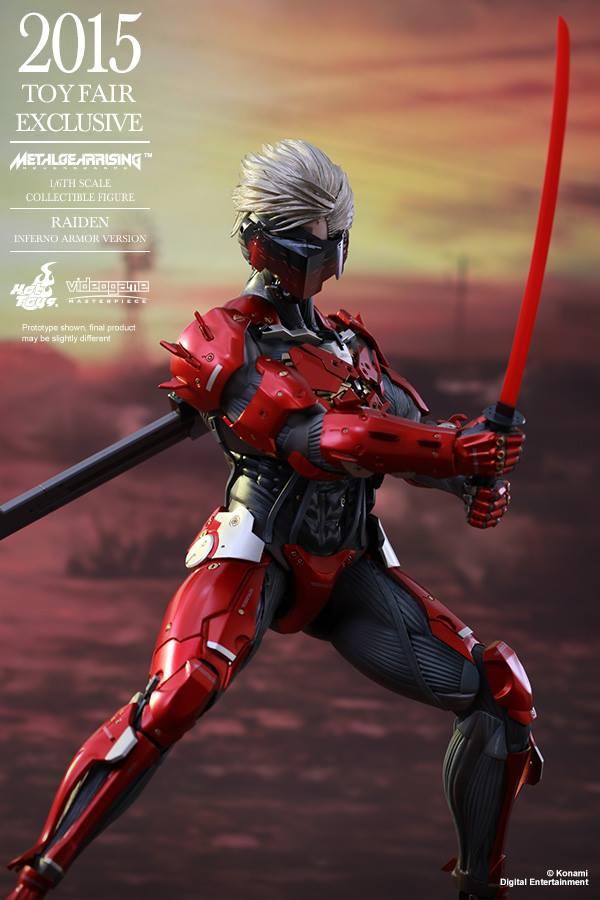 HOT TOYS - Metal Gear Rising: Revengeance - Raiden inferno 11737910