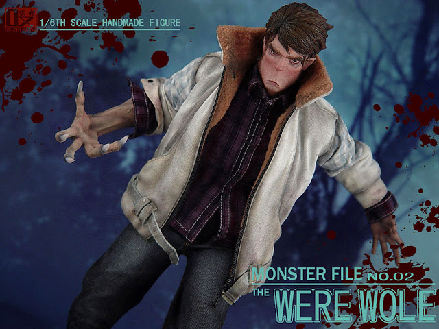 DX SHF ZHI XIANG - MONSTER FILE N°.02 THE WEREWOLE We1210