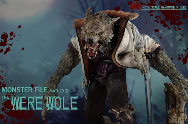 DX SHF ZHI XIANG - MONSTER FILE N°.02 THE WEREWOLE We1410