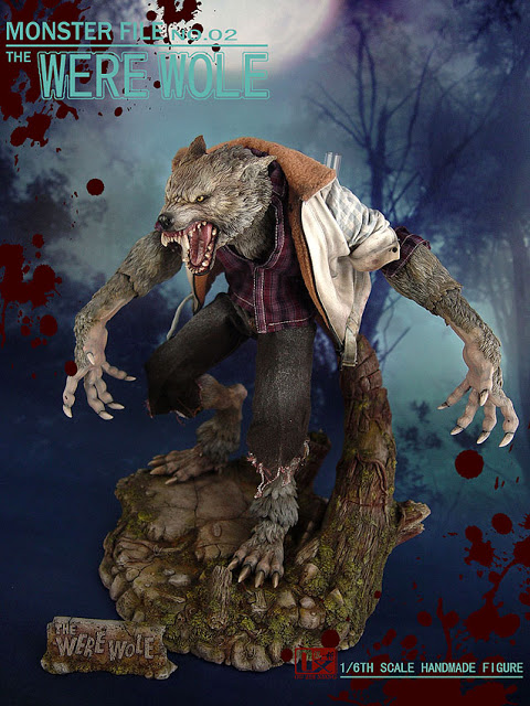 DX SHF ZHI XIANG - MONSTER FILE N°.02 THE WEREWOLE We1610