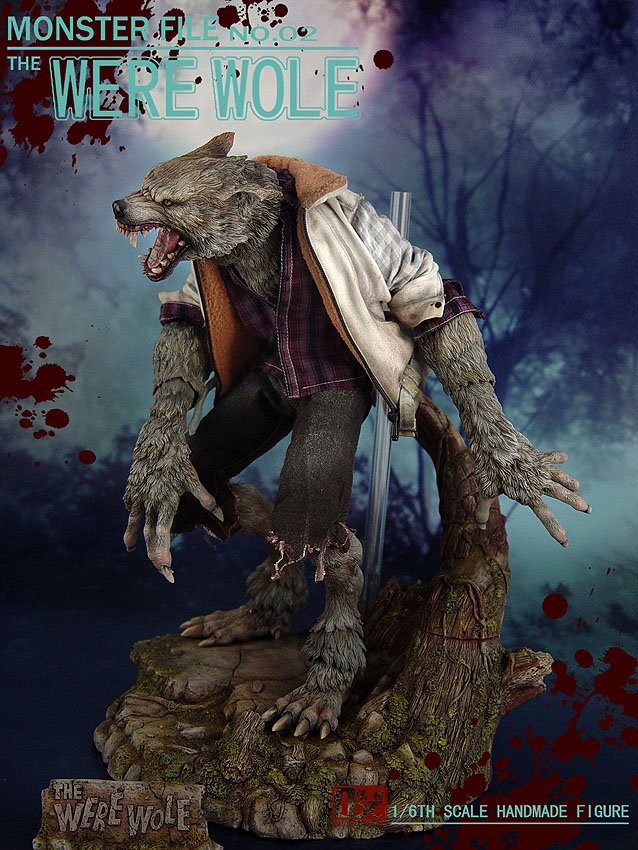 DX SHF ZHI XIANG - MONSTER FILE N°.02 THE WEREWOLE We1710
