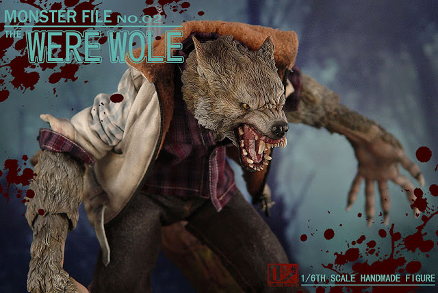 DX SHF ZHI XIANG - MONSTER FILE N°.02 THE WEREWOLE We1810