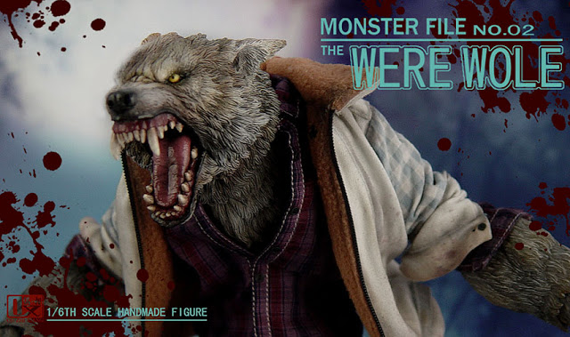 DX SHF ZHI XIANG - MONSTER FILE N°.02 THE WEREWOLE We1910